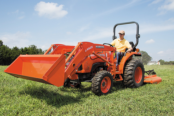 Kubota L2501 for sale at Rippeon Equipment Co., Maryland