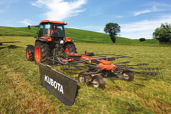 Kubota | RA Series Rotary Rakes | Model RA1042T for sale at Rippeon Equipment Co., Maryland