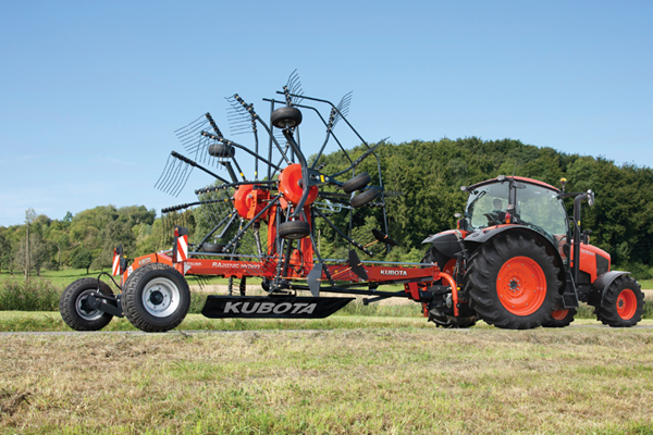 Kubota | RA Series Rotary Rakes | Model RA2072 for sale at Rippeon Equipment Co., Maryland
