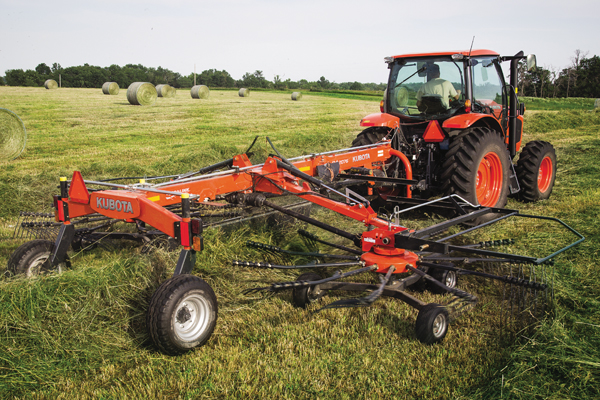 Kubota | RA Series Rotary Rakes | Model RA2076 for sale at Rippeon Equipment Co., Maryland