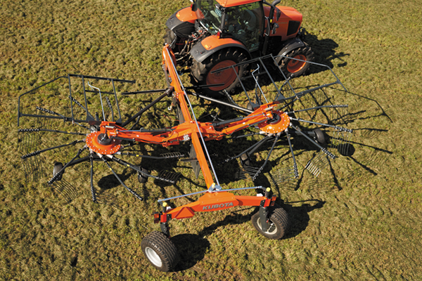 Kubota | RA Series Rotary Rakes | Model RA2584 for sale at Rippeon Equipment Co., Maryland