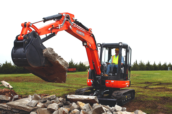 Kubota U55-4 for sale at Rippeon Equipment Co., Maryland