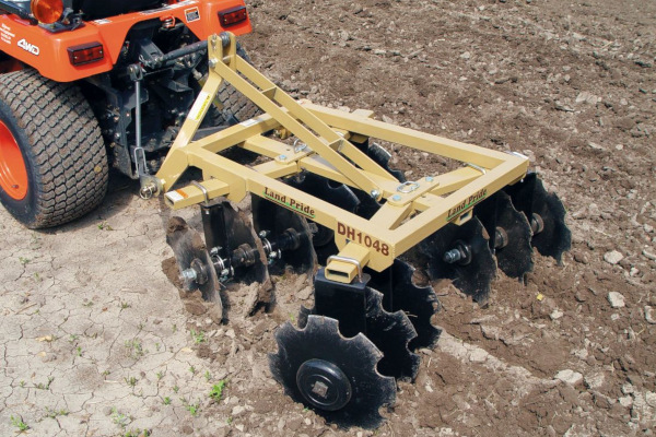 Land Pride | DH10 Series Disc Harrows | Model DH1048 for sale at Rippeon Equipment Co., Maryland