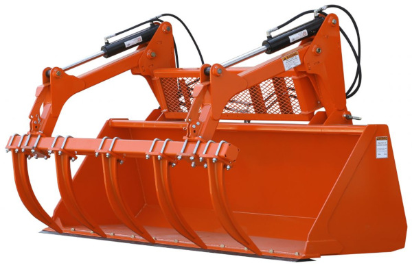 Land Pride | Dirtworking | GB25 & GBE25 Series Grapple Buckets for sale at Rippeon Equipment Co., Maryland
