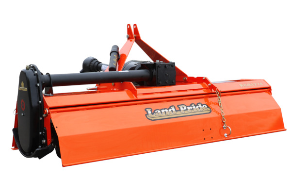 Land Pride | Rotary Tillers | RGA12 & RGR12 Series Gear Drive Rotary Tillers for sale at Rippeon Equipment Co., Maryland