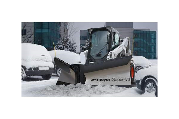 "Snow Plows | Skid Steer V-Plow | Model 10' 6"" Super-V3 for sale at Rippeon Equipment Co., Maryland"