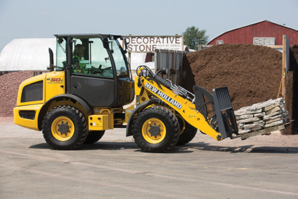 New Holland | Compact Wheel Loaders | Model W50C TC for sale at Rippeon Equipment Co., Maryland