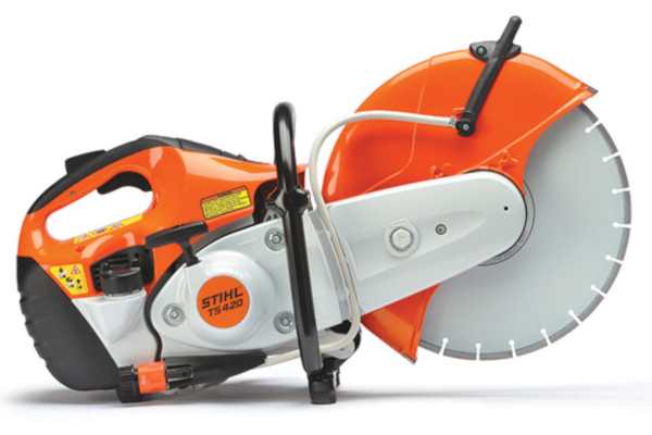 Stihl | Professional Cut-off Machines | Model TS 420 STIHL Cutquik® for sale at Rippeon Equipment Co., Maryland