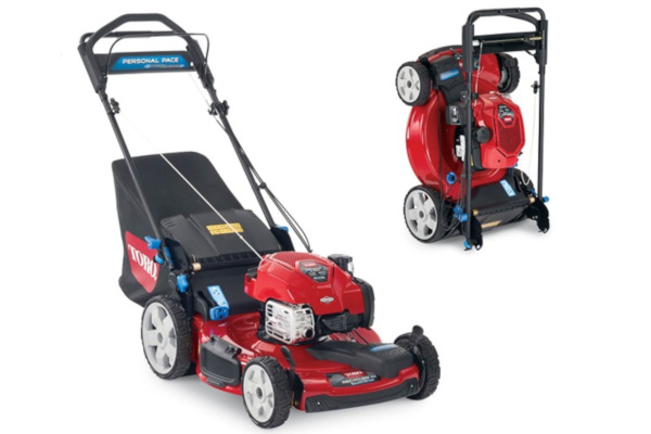 "Toro | PoweReverse™ Recycler® Mowers | Model 22"" PoweReverse™ Personal Pace® SMARTSTOW® High Wheel Mower (20355) for sale at Rippeon Equipment Co., Maryland"