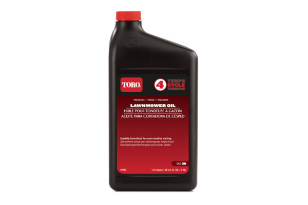 Toro | Accessories | Model Toro® SAE 30 4-Cycle Lawnmower Oil (32 oz.) (Part # 38903) for sale at Rippeon Equipment Co., Maryland