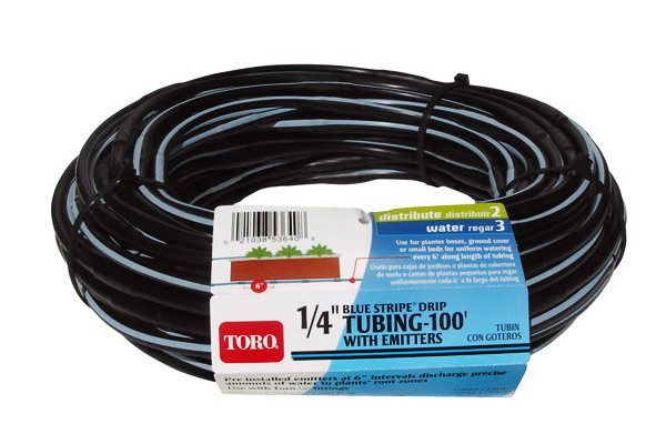 "Toro | Landscape Drip | Model 1/4"" (.6 cm) Tubing w/ Emitters (53640) for sale at Rippeon Equipment Co., Maryland"