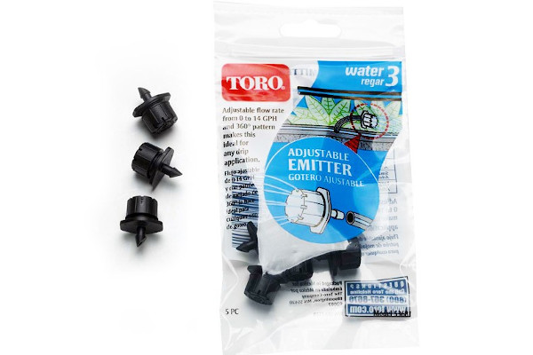 Toro | Landscape Drip | Model Adjustable Emitters, 5 pack (53681) for sale at Rippeon Equipment Co., Maryland