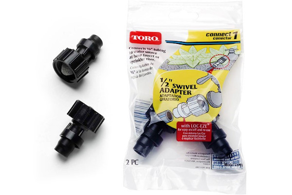 "Toro | Landscape Drip | Model 1/2"" (1.3 cm) Hose Swivel (2 pack) (53701) for sale at Rippeon Equipment Co., Maryland"