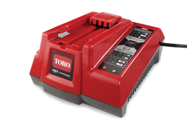 Toro | Debris Management | Model 48V Max Li-Ion Battery Charger (88507) for sale at Rippeon Equipment Co., Maryland