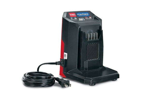 Toro | Single Stage Power Clear | Model 60V MAX* Li-Ion Battery Quick Charger (88602) for sale at Rippeon Equipment Co., Maryland