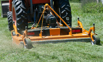 Woods Finish Mowers For Grass Grooming, Cut Over Uneven