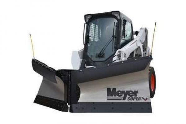 "Snow Plows | Skid Steer V-Plow | Model Super-V2 DIN Plate Plow 8' 6""  for sale at Rippeon Equipment Co., Maryland"