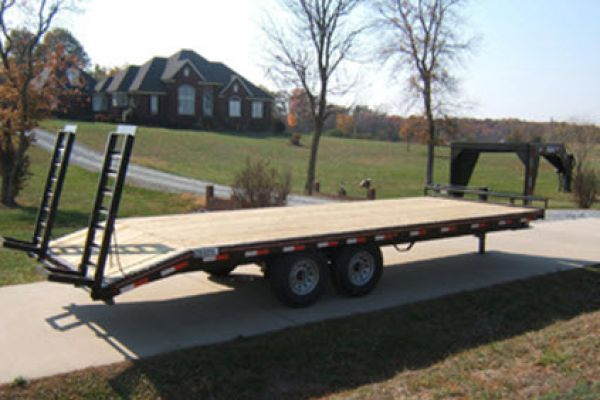 Hudson Brothers | Gooseneck Trailers | Model VTMGH 6 Ton Capacity for sale at Rippeon Equipment Co., Maryland