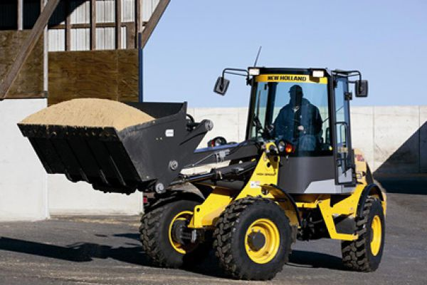 New Holland | Compact Wheel Loaders | Model W80B TC (Prior Model) for sale at Rippeon Equipment Co., Maryland