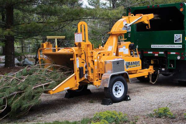 Bandit Industries INTIMIDATOR™ 15XPC - TOWABLE  DRUM STYLE HAND-FED CHIPPER for sale at Rippeon Equipment Co., Maryland