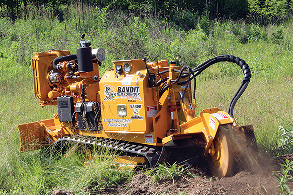 Bandit Industries | Stump Grinders | 2550 SERIES for sale at Rippeon Equipment Co., Maryland