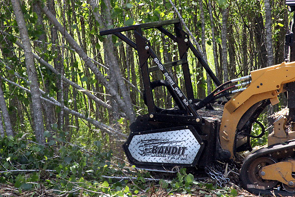 Bandit Industries 72FM MULCHER - DETAILS  SKID STEER ATTACHMENT for sale at Rippeon Equipment Co., Maryland