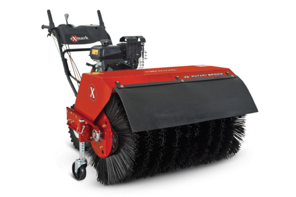 Exmark | Turf Management | Rotary Brooms for sale at Rippeon Equipment Co., Maryland