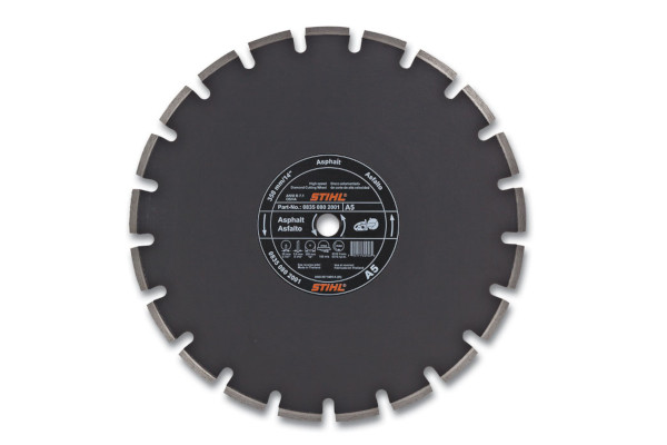 Stihl | Diamond Wheels | Model D-A 05 Diamond Wheel for Asphalt - Economy Grade for sale at Rippeon Equipment Co., Maryland