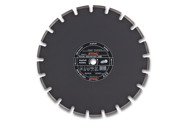 Stihl | Diamond Wheels | Model D-A 20 Diamond Wheel for Asphalt - Quality Grade for sale at Rippeon Equipment Co., Maryland