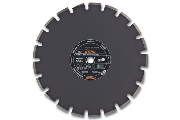 Stihl | Diamond Wheels | Model D-A80 Diamond Wheel - Premium Grade for sale at Rippeon Equipment Co., Maryland