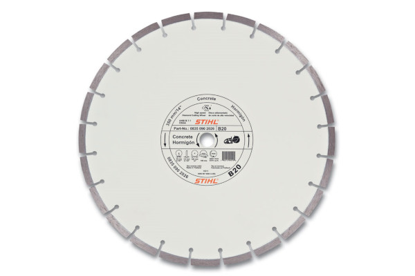 Stihl | Diamond Wheels | Model D-B20 Diamond Wheel - Quality Grade for sale at Rippeon Equipment Co., Maryland